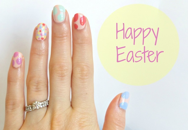 Easter Blobbicure Nail Art