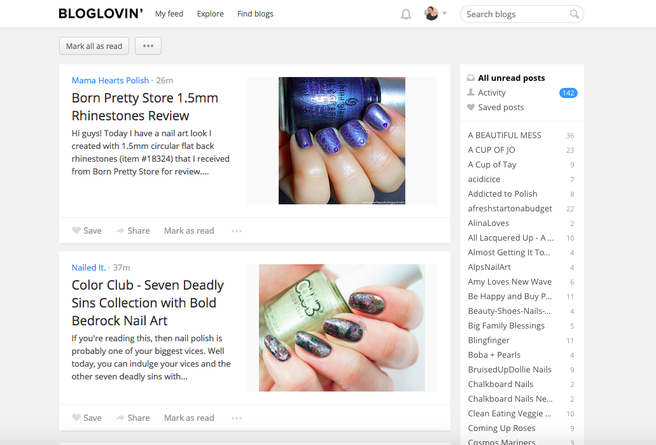 What is Bloglovin'